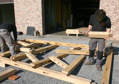 Eikenhouten constructies 05